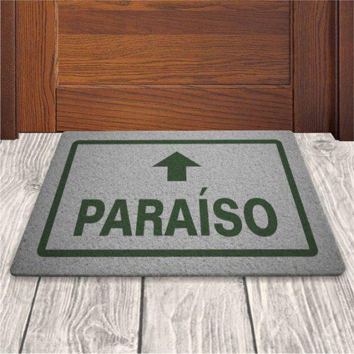 TAPETE DE ENTRADA PARAISO