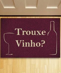 tapete trouxe vinho