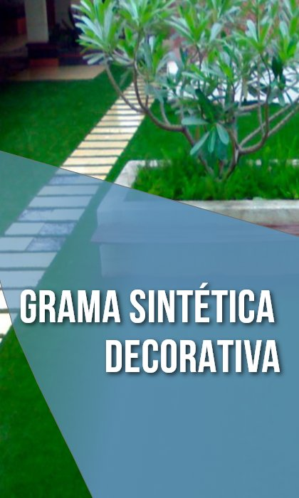 Grama Sintética Decorativa Mobile